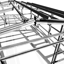 zanet applied engineering Light Gauge Steel Joists 5 year anti corrosion guarantee for all structures located less than 5 km from the seafront and at altitudes above 800 m